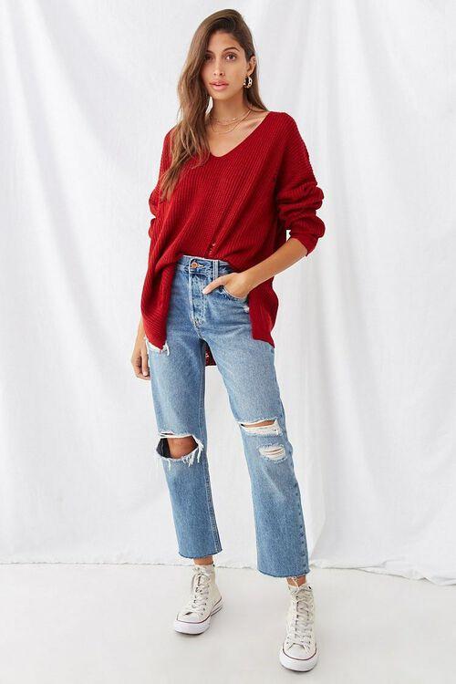 Distressed Longline Sweater, image 4