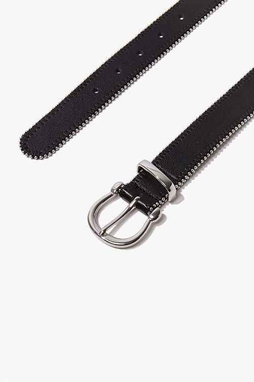 Studded Faux Leather Belt, image 2