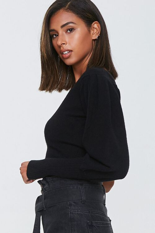 Ribbed One-Shoulder Sweater, image 2
