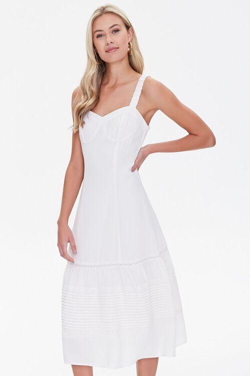 Sweetheart Midi Dress, image 1