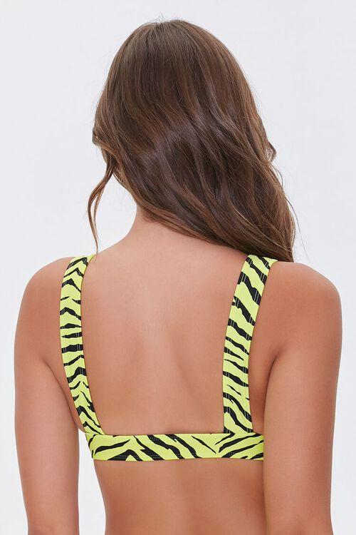 Tiger Print Bikini Top, image 3
