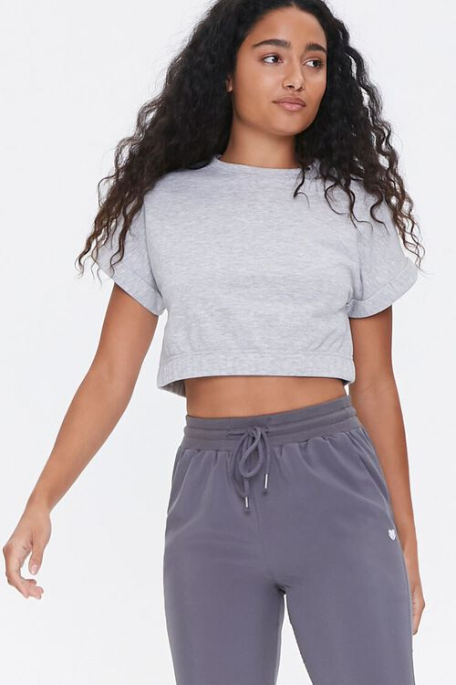 Active Cropped Tee, image 1