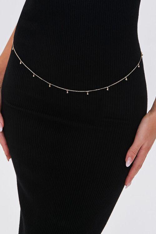 Faux Gem Body Chain, image 1
