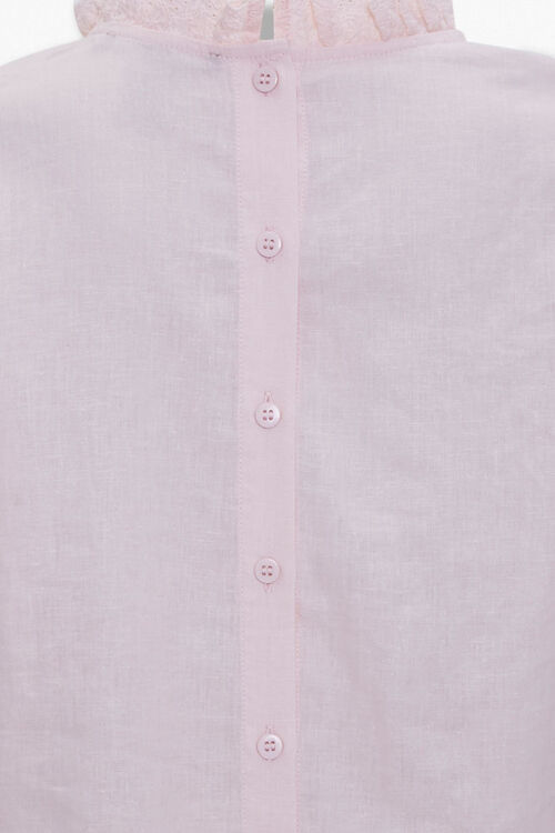 Ruffle Puff-Sleeve Top, image 4