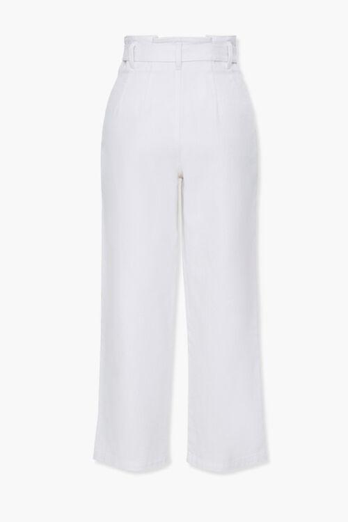 Wide-Leg Paperbag Jeans, image 3
