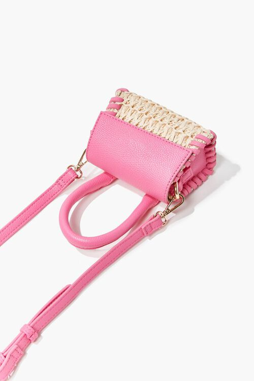 Basketwoven Mini Crossbody Bag, image 2