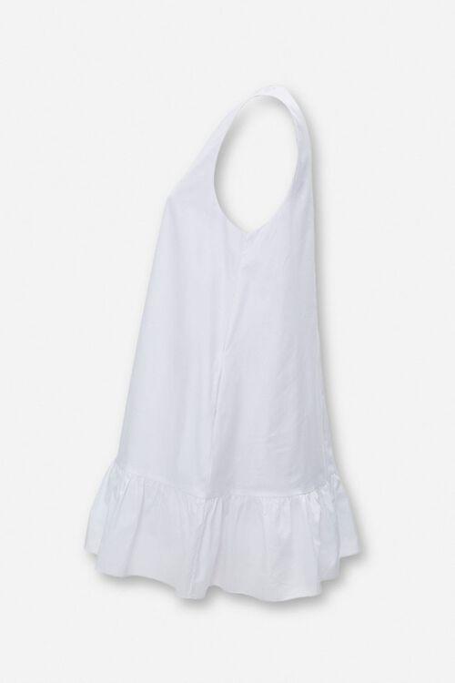 Flounce-Hem Swing Dress, image 2