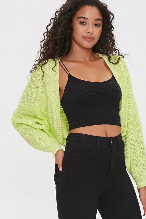 Batwing Cardigan Sweater, image 1