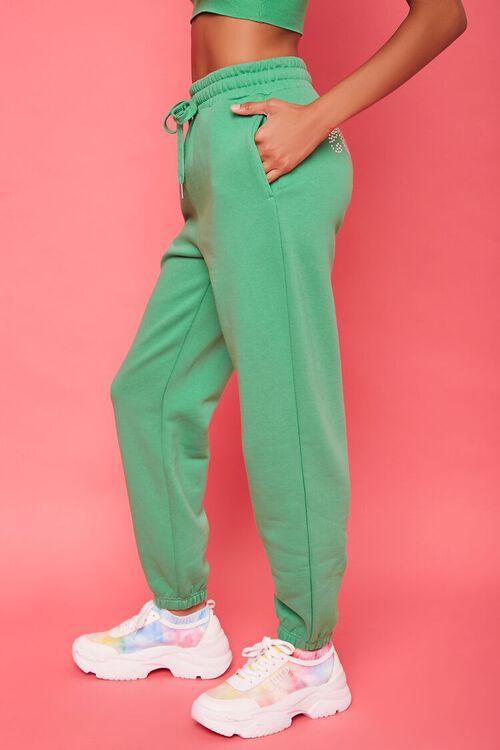 Juicy Couture Rhinestone Fleece Joggers, image 3