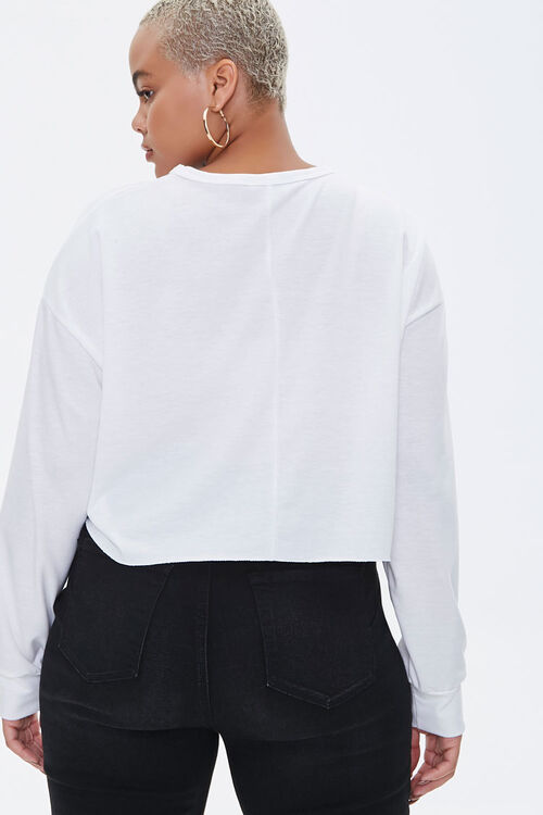 Plus Size Relaxed Drop-Sleeve Top, image 3