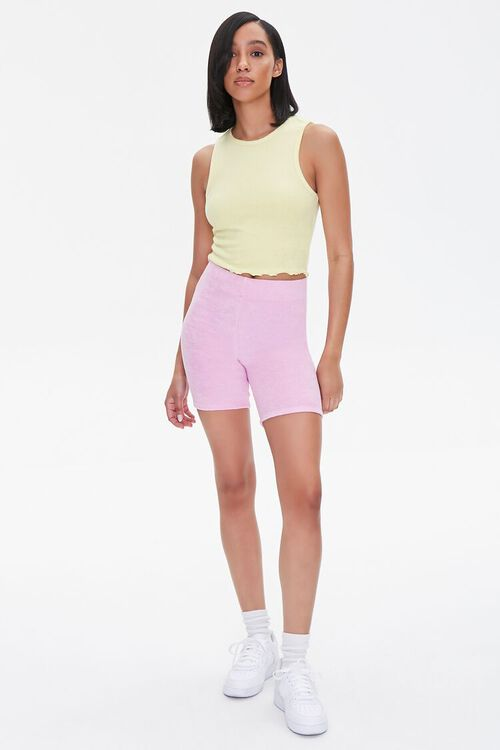 Mineral Wash Biker Shorts, image 5