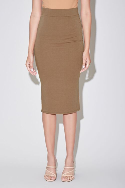 High-Rise Pencil Skirt, image 2