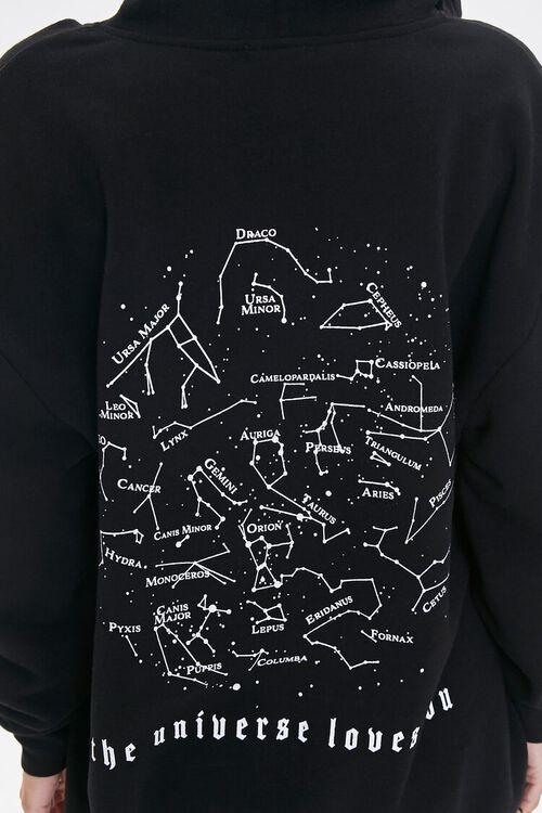 Universe Graphic Zip-Up Hoodie, image 6