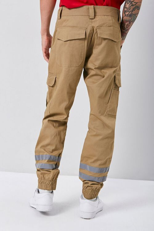 Reflective-Trim Cargo Joggers, image 3