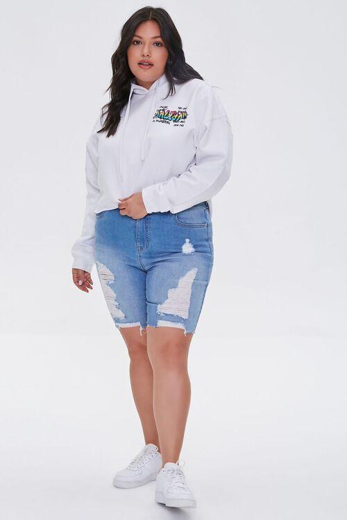 Plus Size Aaliyah Graphic Hoodie, image 4