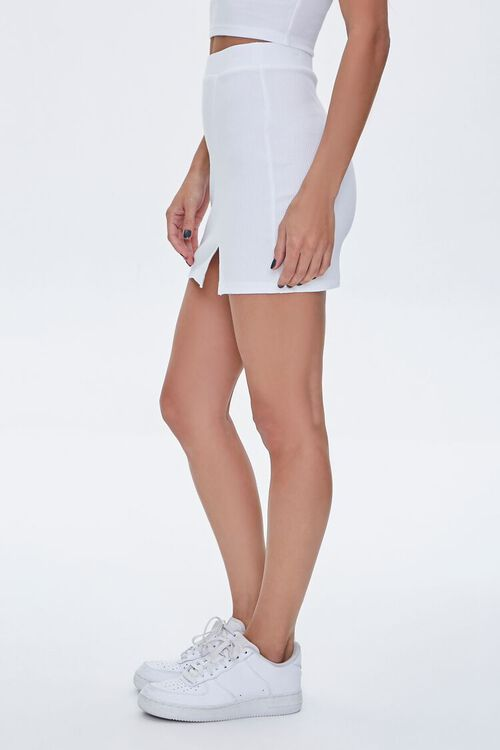 Fitted Mini Skirt, image 3