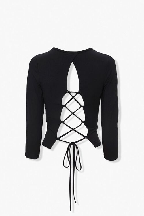 Lace-Up Back Top, image 3