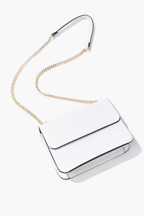 Faux Leather Crossbody Bag, image 4