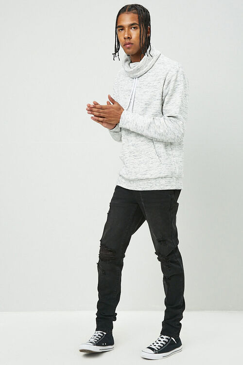 Fleece Turtleneck Pullover, image 4
