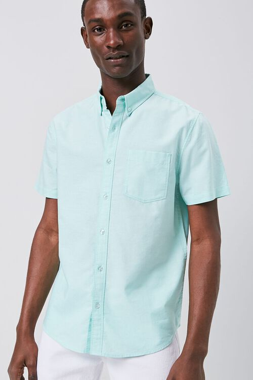 Fitted Oxford Pocket Shirt, image 1