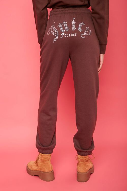 Juicy Couture Rhinestone Fleece Joggers, image 5