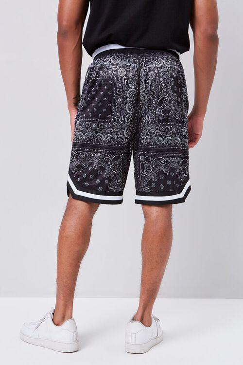 Bandana Print Drawstring Shorts, image 4
