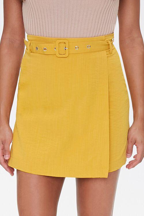 Belted Mini Skirt, image 2