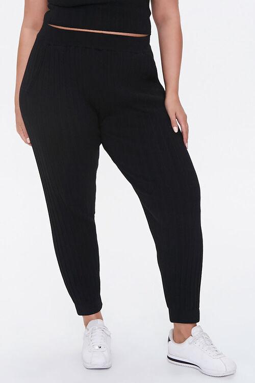 Plus Size Cropped Cami & Ankle Pants Set, image 5