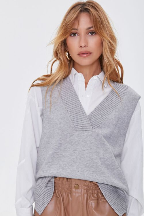 High-Low Sweater Vest, image 5