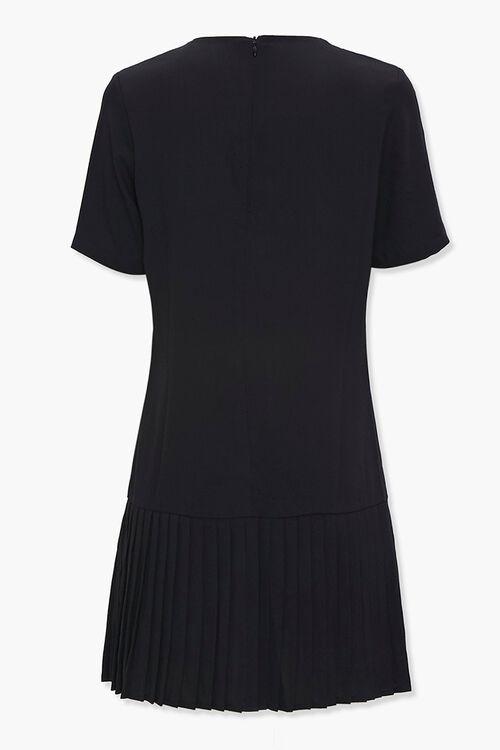 Pleated Shift Dress, image 2