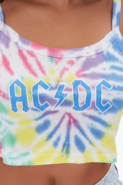 Tie-Dye ACDC Cropped Cami, image 5