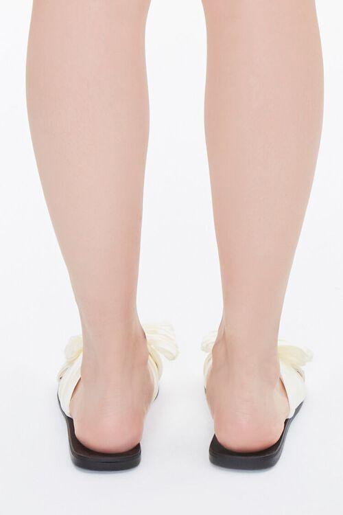 Chiffon Crisscross Bow Sandals, image 3