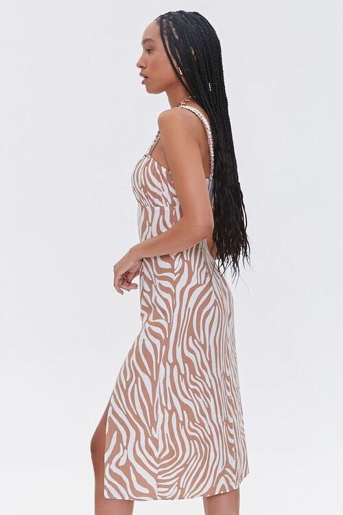 Tiger Striped Slit Dress, image 2