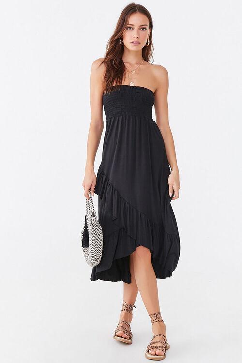 Ruffle-Trim High-Low Dress, image 4