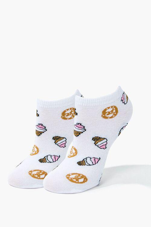 Ice Cream & Pretzel Ankle Socks, image 1