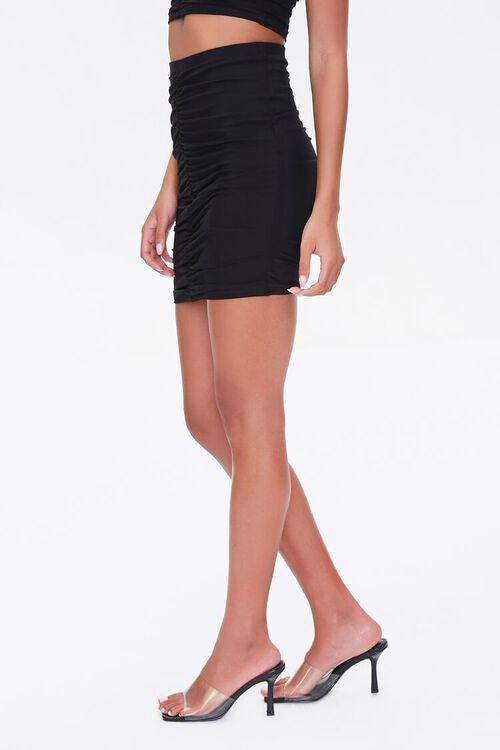 Ruched Mini Skirt, image 3
