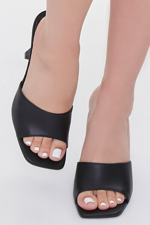 Faux Leather Stiletto High Heel, image 4