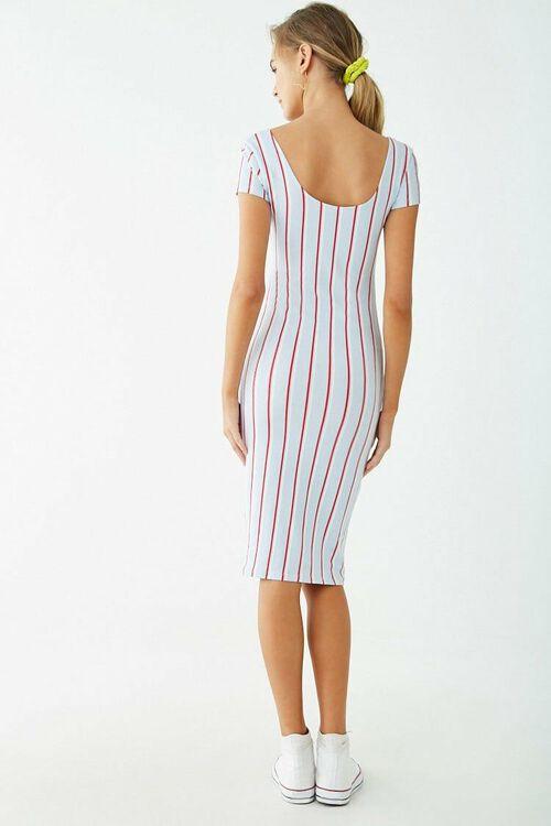 Sleeveless Striped Dress, image 3