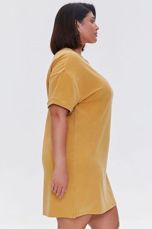 Plus Size Mini T-Shirt Dress, image 2