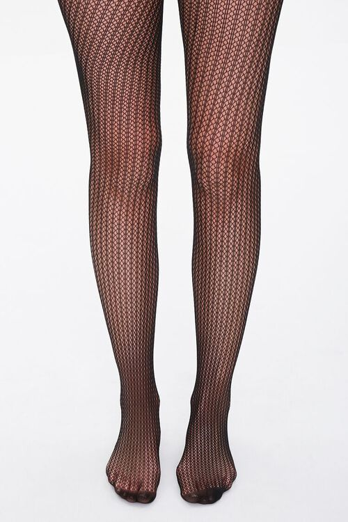 Stripped Netted Tights, image 4