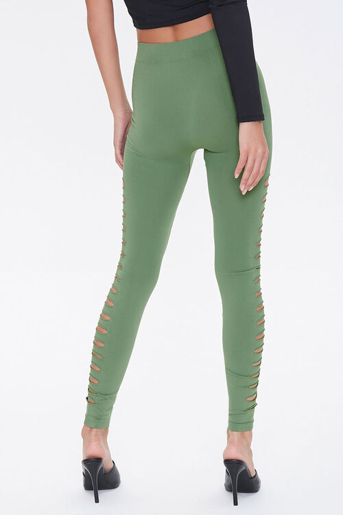 Ladder Cutout Leggings, image 3