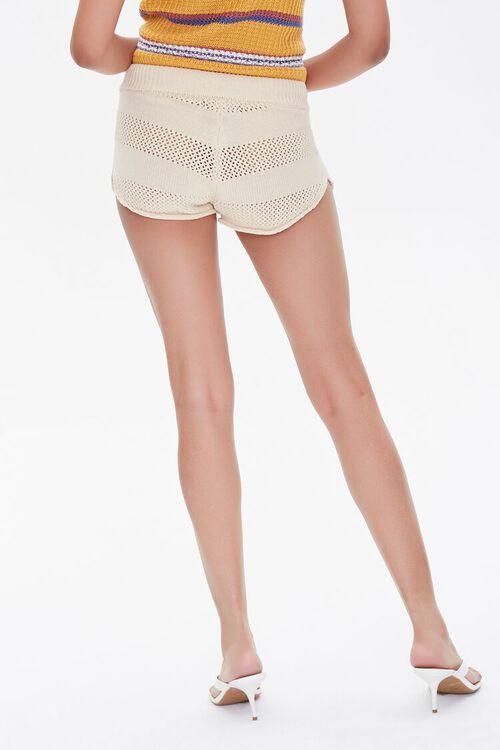 Perforated Drawstring Shorts, image 4