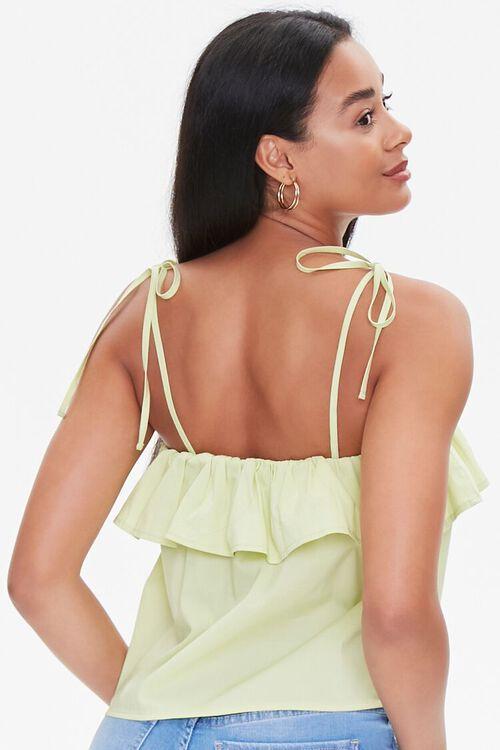 Tie-Strap Flounce Cami, image 3