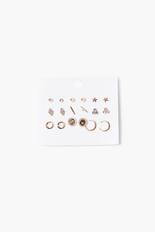 Variety Hoop & Stud Earring Set, image 1