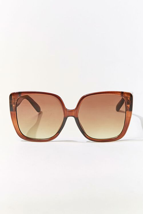 Square Tinted Sunglasses, image 1