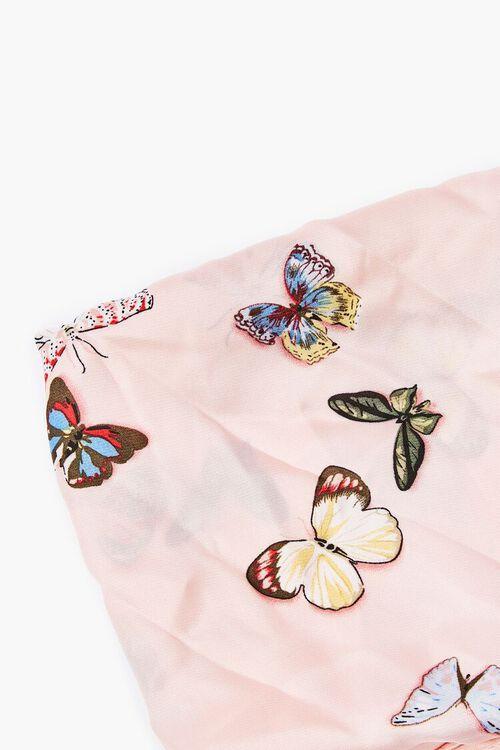 Butterfly Print Handkerchief Top, image 5