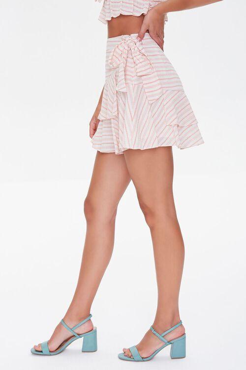 Striped Flounce Mini Skirt, image 3