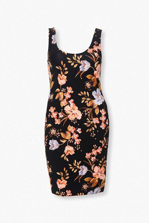 Plus Size Floral Tank Dress, image 1