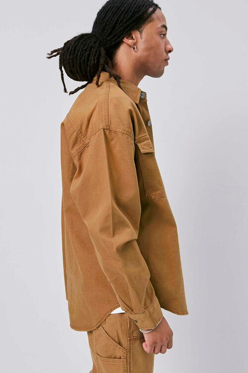 Buttoned Canvas Jacket, image 3