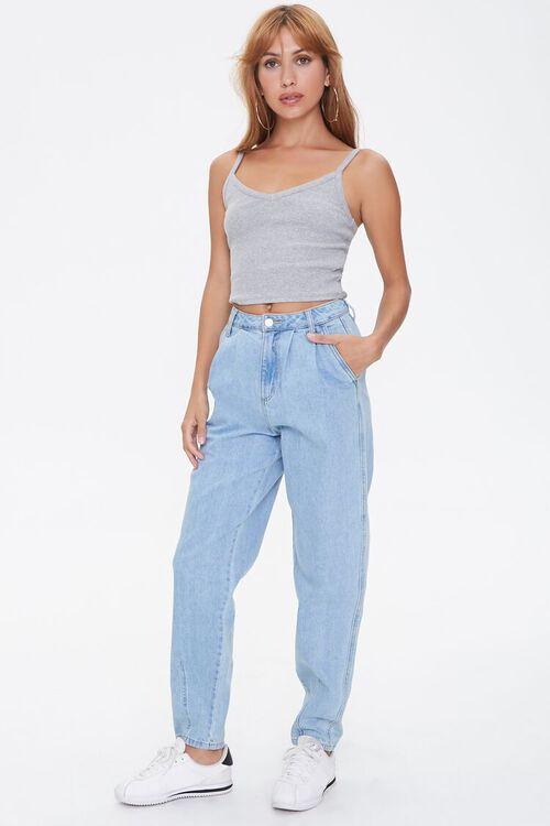 Pleated Straight-Leg Jeans, image 5